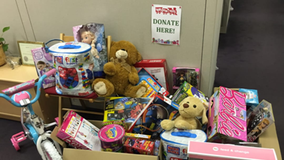 Wind River collects donations for charity